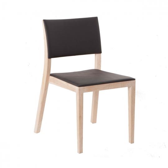 INSTINCT CHAIR - White Wax - 46 x 56 x 82 cm - Brown