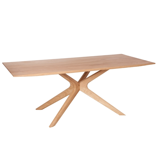 SPIDER TABLE - Wax - 200 x 100 x 76 cm - Brown
