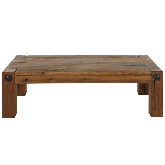 TRAVERS PRADO COFFEE TABLE - Antique - 130 x 68 x 38 cm - Brown