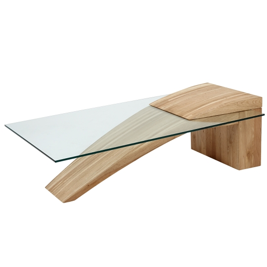 SPECIAL COFFEE TABLE - Wax - 120 x 70 x 40 cm - Brown